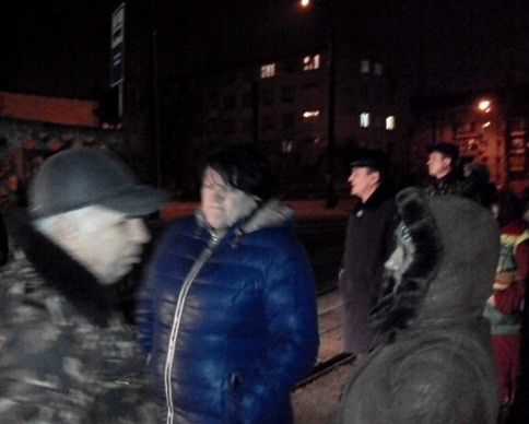 Киевпасстранс бастует: трамваи не вышли на маршруты (фото)