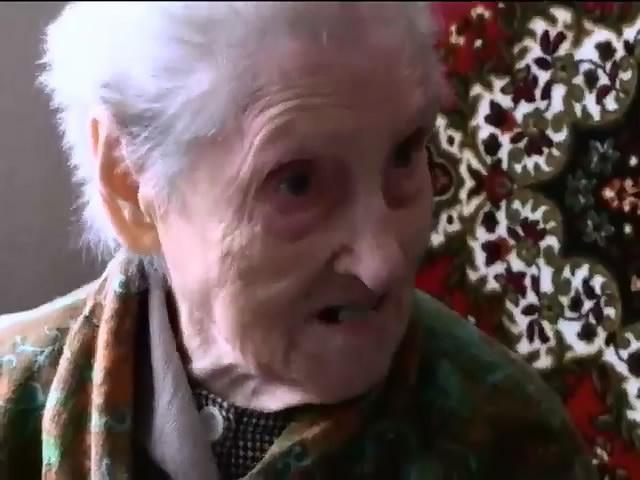 У Дебальцево пенсiонерiв рятують вiд голодноi смертi (видео)