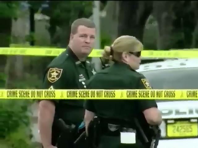 У Флоридi злодiй застрелив полiцейського та намагався втiкти (видео)