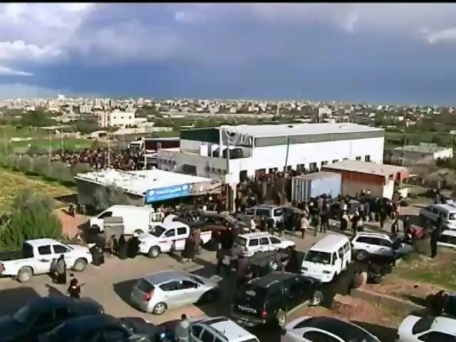У ґгиптi на два днi вiдкрили кордон iз сектором Гази (видео)