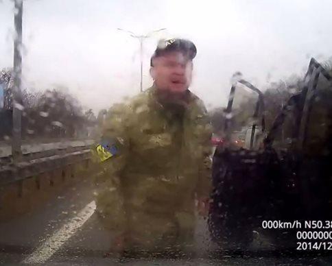"""""""Айдар"""" обвиняют в пьяном нападении на Бориспольской трассе (фото, видео)"""