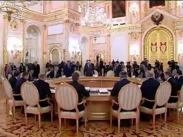 Лiдери Митного союзу розпочали засiдання у Москвi (видео)