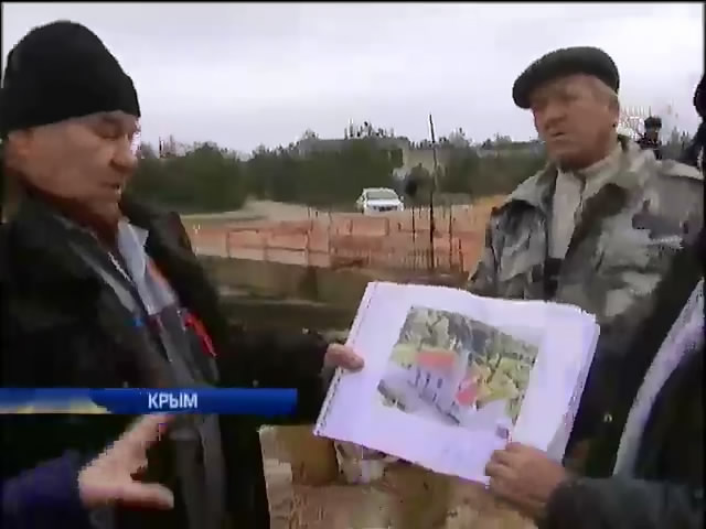 Мусульманская община в Крыму собственноручно строит мечеть (видео)