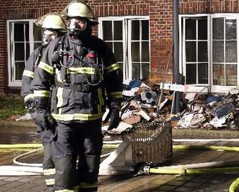 В Гамбурге сожгли офис газеты Hamburger Morgenpost за карикатуры (видео)