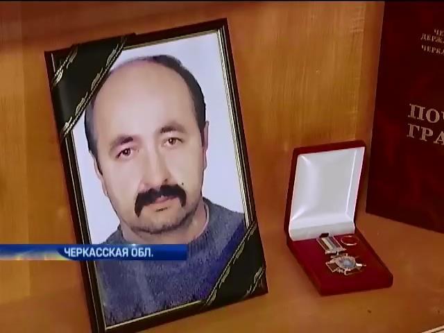 Чиновники Черкасс не хотят платить семье погибшего бойца (видео)