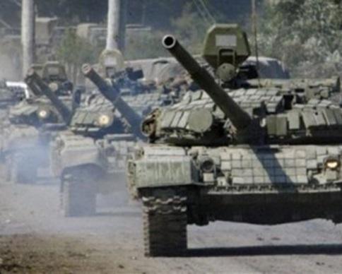 Из Горловки движется колонна танков в сторону позиций украинских бойцов