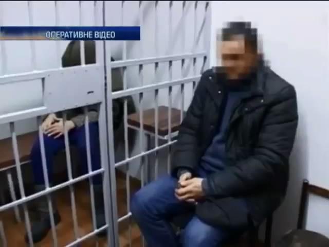 СБУ затримала двох бойовикiв, що стежили за вiйсковими (видео)
