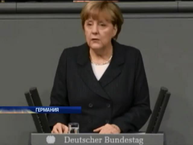 Меркель ошибочно назвала антисемитизм гражданским долгом (видео)
