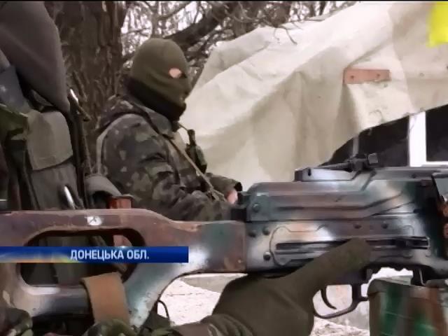 Донецький аеропорт та село Пiски контролюe армiя Украiни (видео)