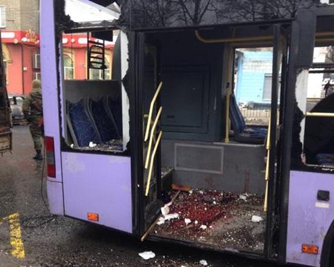 Взрыв на остановке в Донецке унес 9 жизней - Ярема