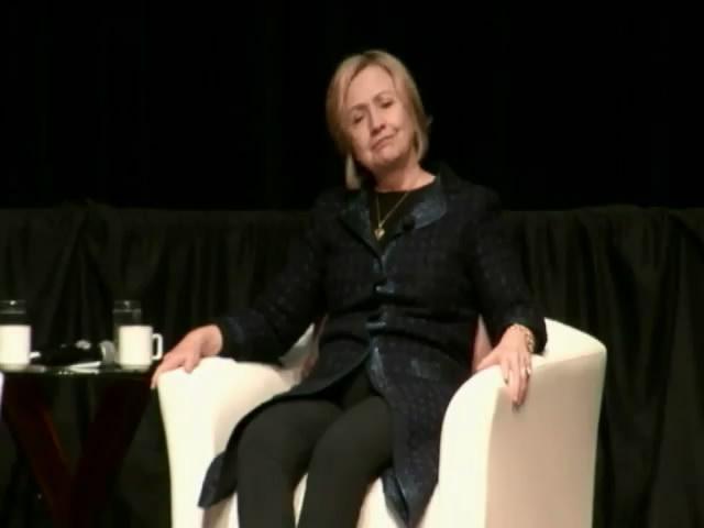 Хилари Клинтон показала внутренний диалог Путина (видео)