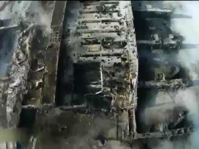 Оборона аэропорта Донецка закончилась с падением стен (видео)
