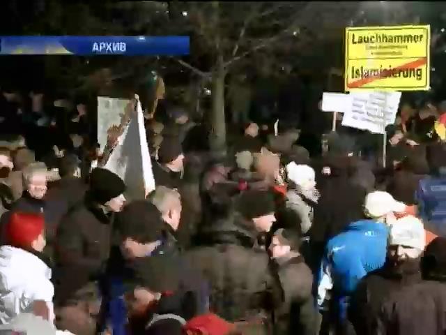 Антиисламисты из Pegida набирают популярность на востоке Германии (видео)