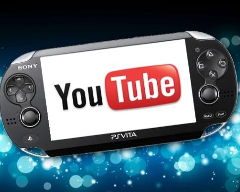 Sony ���������� ��������� Youtube �� PS Vita