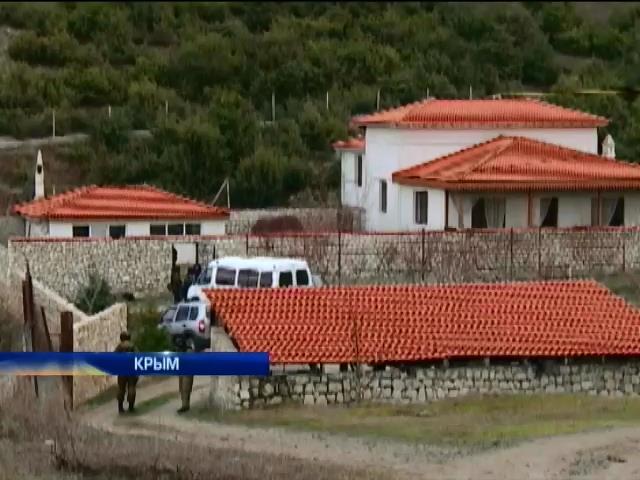 Дом Чийгоза разворотили при обыске и не нашли ничего (видео)