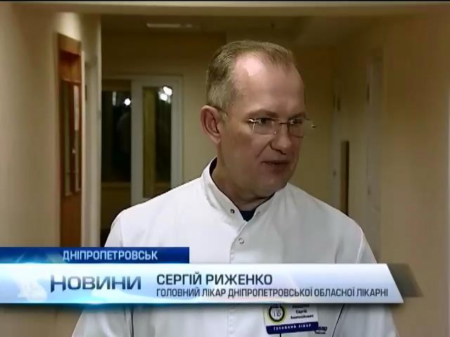 У Днiпропетровську прооперували 3 тяжкопоранених бiйцiв (видео)