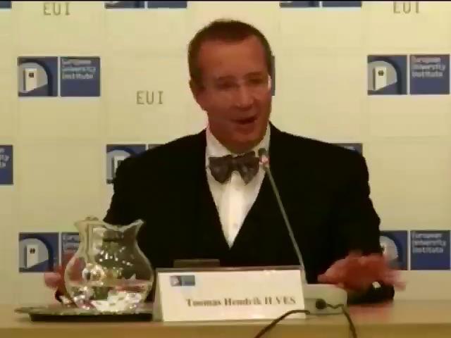 Естонiя вважаe вiйну на Донбасi нападом на ґвропу (видео)