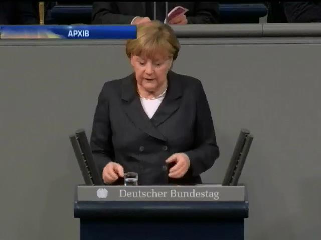 Меркель обговорить ситуацiю в Украiнi з Обамою (видео)
