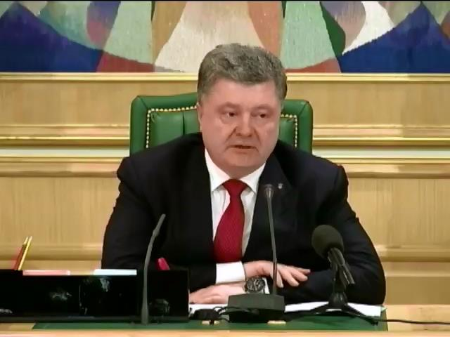 Порошенко привiтав делегацiю у ПАСЕ з дипломатичною перемогою (видео)