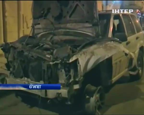 В центрi Каiру прогримiв вибух (видео)