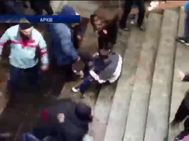 Харкiв'янка, що добивала майданiвця, вiдмовилася вiд амнiстii (видео)