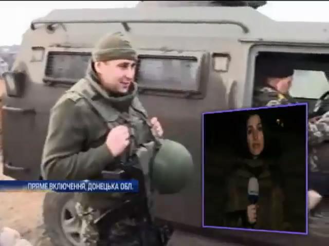 Пiд Марiуполем знищили 2 танки та мiномет терористiв (видео)
