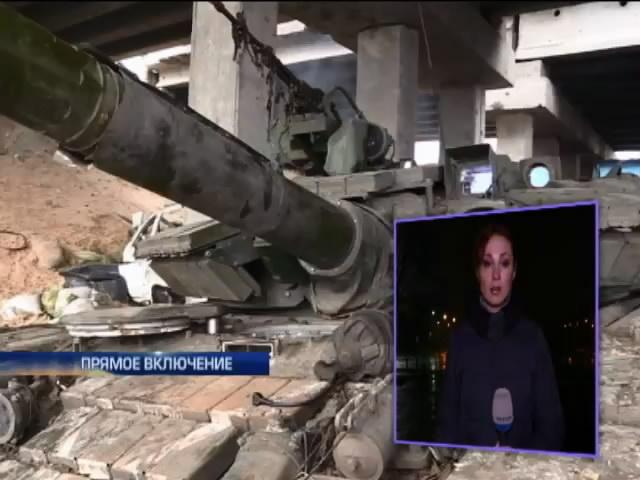 Украинская армия контролирует Пески (видео)