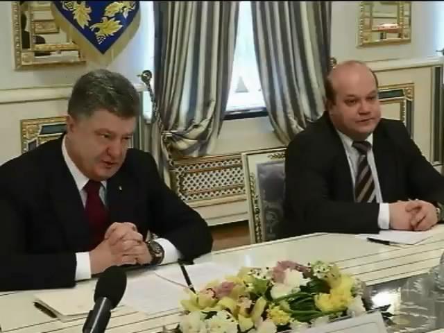 Порошенко вiдмовився припинити люстрацiю в Украiнi (видео)
