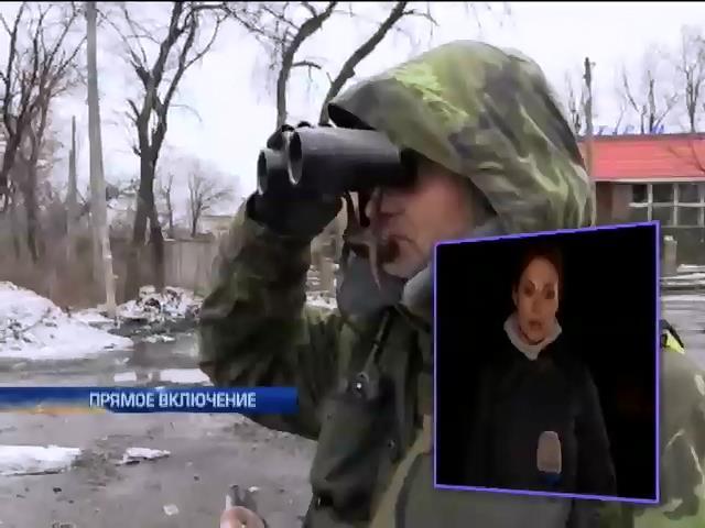 У поселка Редкодуб военные попали в окружение (видео)