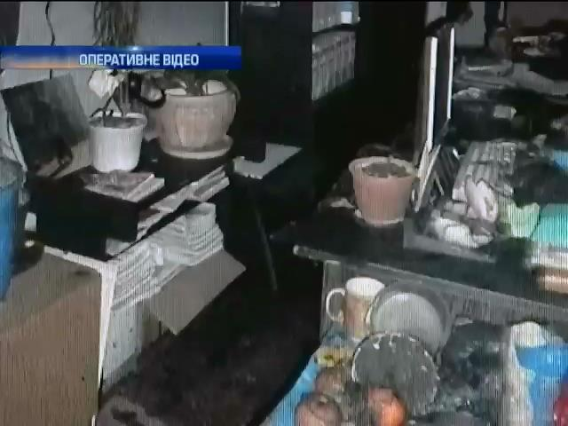 Вiддiлення судових експертиз Кiровограда намагались спалити (видео)
